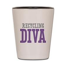 Recycling DIVA Shot Glass