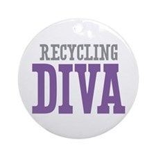 Recycling DIVA Ornament (Round)