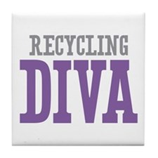 Recycling DIVA Tile Coaster