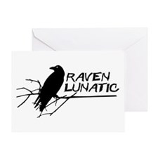 Raven Lunatic - Halloween Greeting Cards