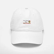 Custom Name 1st Christmas Owl Baseball Baseball Cap