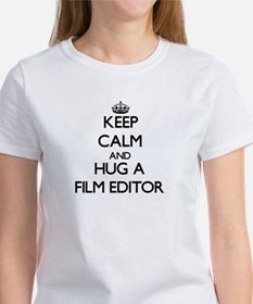 Keep Calm and Hug a Film Editor T-Shirt
