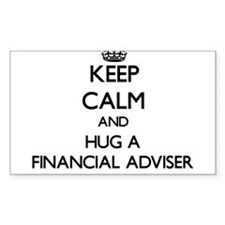 Keep Calm and Hug a Financial Adviser Decal