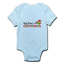 Baby Bump's 1st Christmas Owl Infant Bodysuit