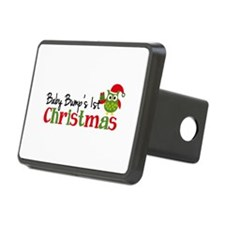 Baby Bump's 1st Christmas Owl Hitch Cover