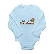 Aunt's 1st Christmas Owl Baby Outfits