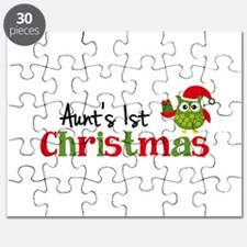 Aunt's 1st Christmas Owl Puzzle