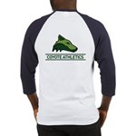 Blue Baseball Jersey, Coyote On Back