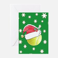 Christmas Tennis Ball With Santa Hat (Pk 0F 20)