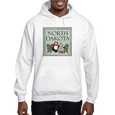 Winter Penguins North Dakota Hoodie