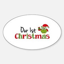 Our 1st Christmas Owl Decal
