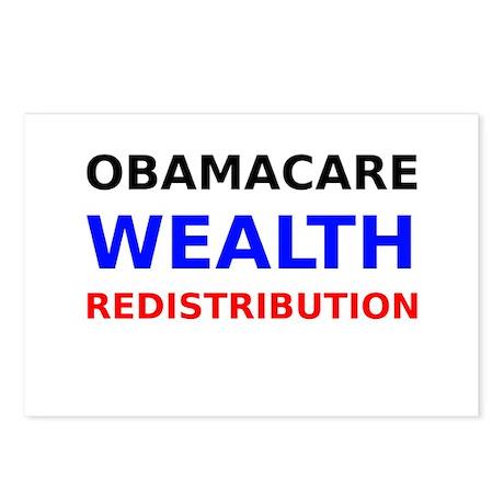 Obamacare Wealth Redistribution Postcards (Package