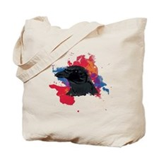 Red Crow Tote Bag