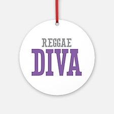 Reggae DIVA Ornament (Round)