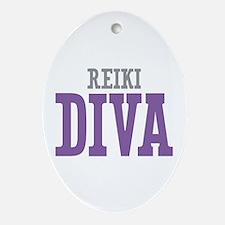 Reiki DIVA Ornament (Oval)