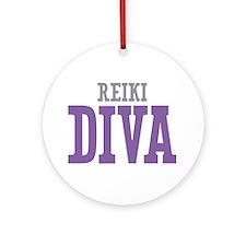Reiki DIVA Ornament (Round)