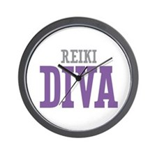 Reiki DIVA Wall Clock
