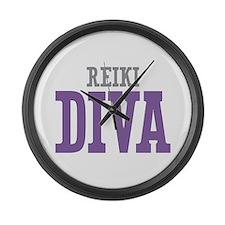 Reiki DIVA Large Wall Clock