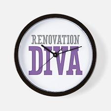 Renovation DIVA Wall Clock