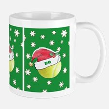 Ho Ho Ho Tennis Balls With Santa Hat Mugs