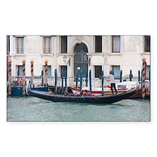 Venetian Gondola on the Grand  Decal