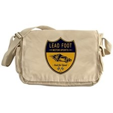Lead Foot Hot Rod Messenger Bag