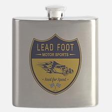 Lead Foot Hot Rod Flask