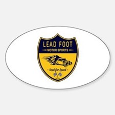 Lead Foot Hot Rod Decal