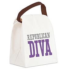 Republican DIVA Canvas Lunch Bag