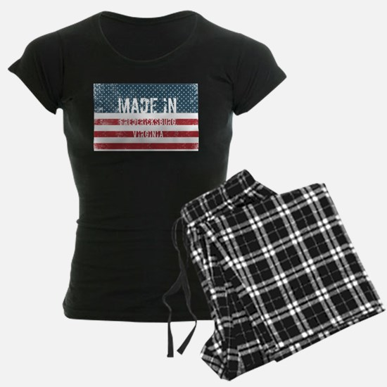 Made in Fredericksburg, Virginia Pajamas