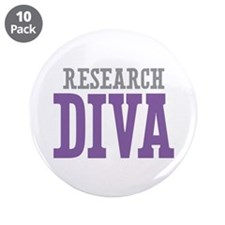 """Research DIVA 3.5"""" Button (10 pack)"""