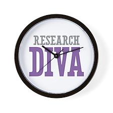 Research DIVA Wall Clock