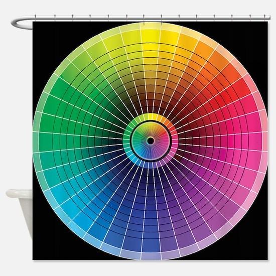 ColorWheel Shower Curtain