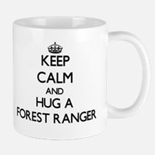 Keep Calm and Hug a Forest Ranger Mugs