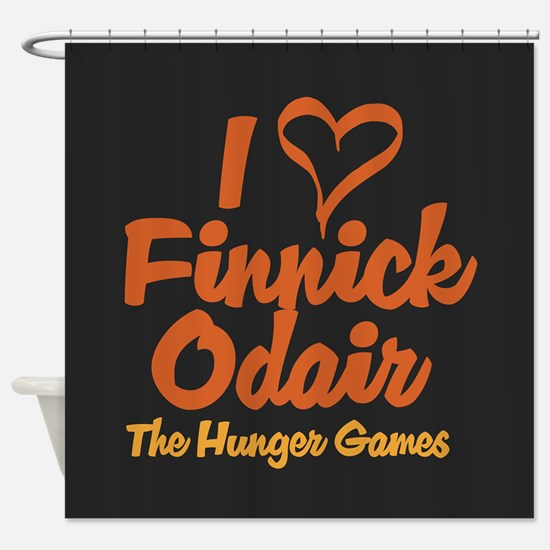 I Heart Finnick Shower Curtain