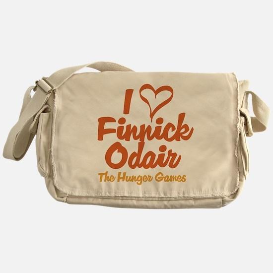 I Heart Finnick Messenger Bag
