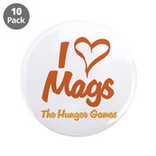 "I Heart Mags 3.5"" Button (10 pack)"