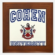 COHEN University Framed Tile