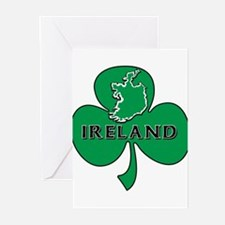 Ireland Clover Greeting Cards (Pk of 10)