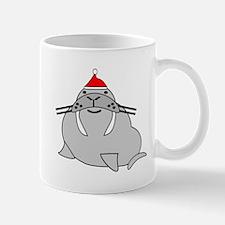 Christmas Walrus Mugs