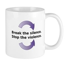 Break the silence Stop the Violence Mugs