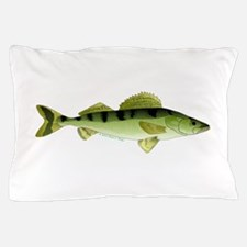 Zander pike perch Pillow Case