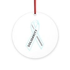 Strength Solidarity and Sisterhood Ornament (Round