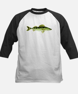 Zander pike perch c Baseball Jersey