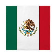 Mexican Flag Queen Duvet