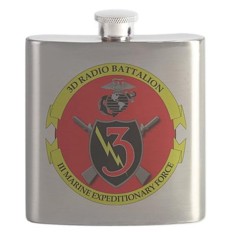 SSI-USMC-3RD RADIO BN Flask