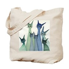 blue green hilo Tote Bag