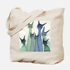 blue green hilo Tote Bag