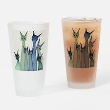 blue green hilo Drinking Glass