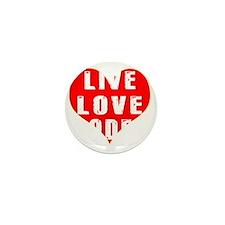 Live Love Rodeo Designs Mini Button